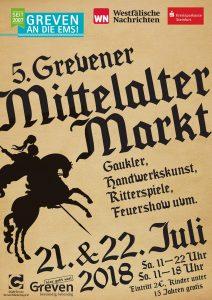 Mittelalterliches Treiben in Greven